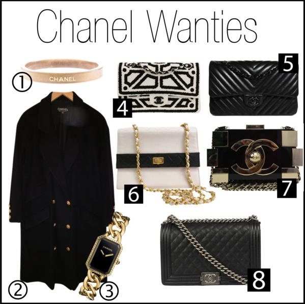 chanel wanties